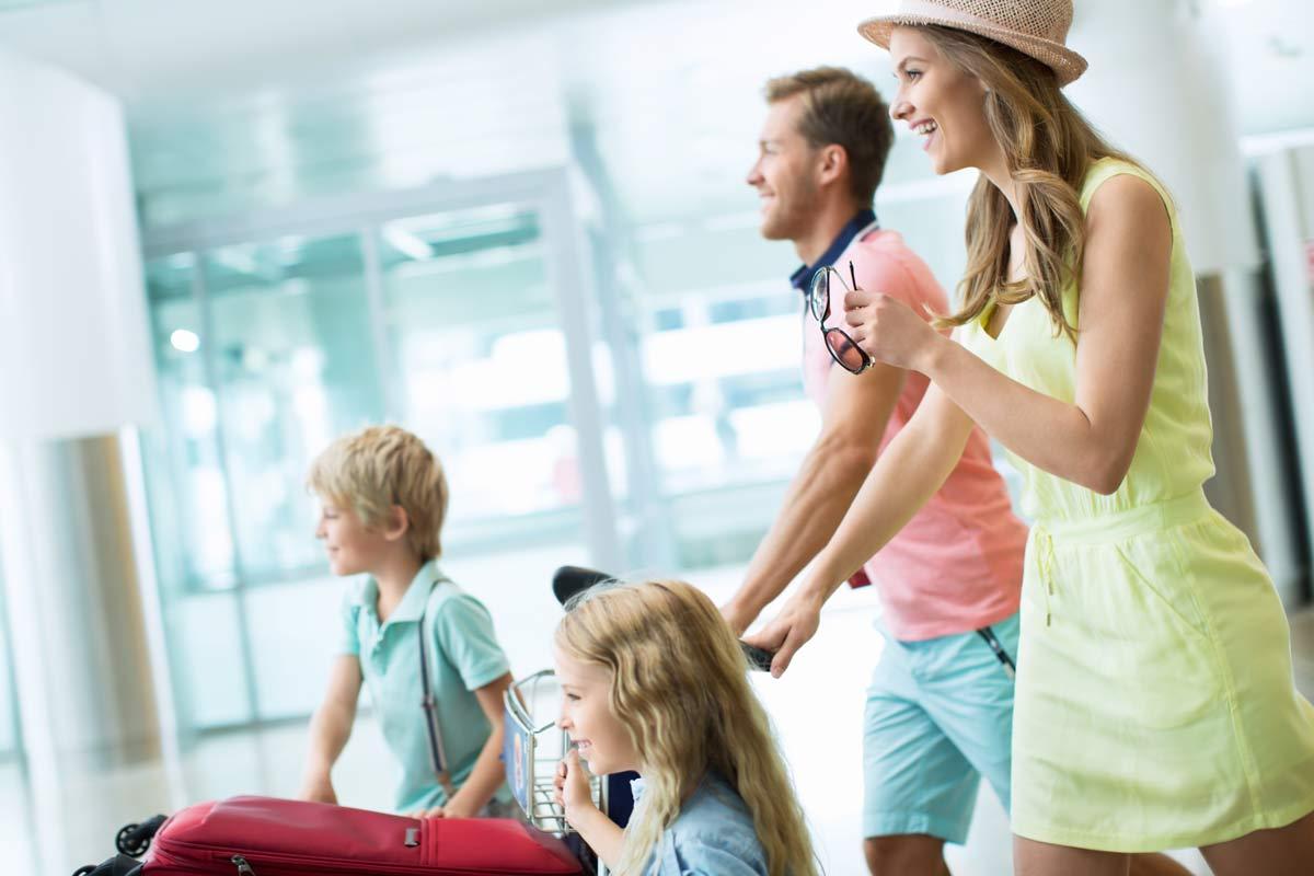 Partir en voyage avec toute la famille